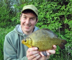 Phil Spinks Norfolk Crucian Carp2. Rocklands Mere Fishery