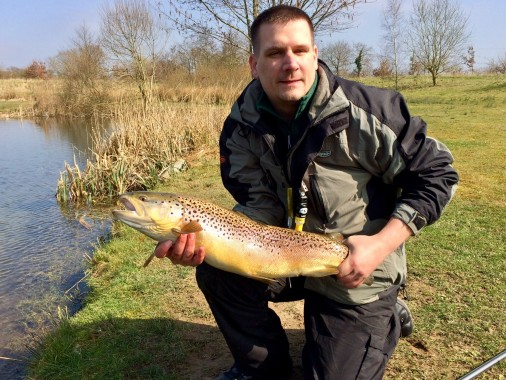 rocklands mere fishery brown trout