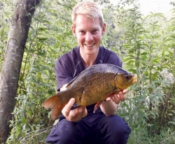 Phil Spinks Norfolk Crucian Carp. Rocklands Mere Fishery