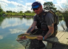 Rocklands Mere Fishery fly fishing norfolk