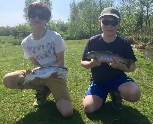 rocklands mere fishery trout